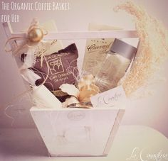 The Organic Coffee Basket: For Her