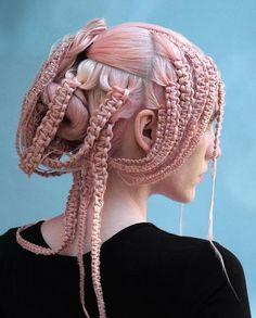 Hair Art, Your Hair, Hair Inspo, Hair Inspiration, Coiffure Hair, Natural Hair Styles, Long Hair Styles, Fantasy Hair, Pink Hair
