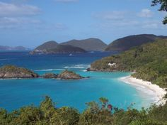 USVI  Megan's Bay ...the nicest beach I have ever been to.  Love it.