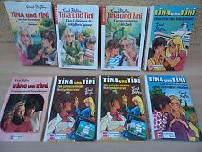 SAMMLUNG 8x Tina und Tini Enid Blyton Schneider Buch alte neue Bücher