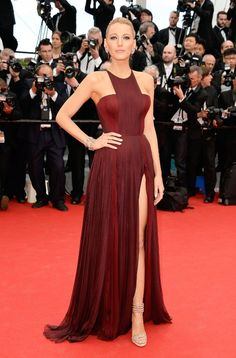 Blake Lively seemingly saves all her best dresses for the Cannes Film Festival—take a look back at our favorites.
