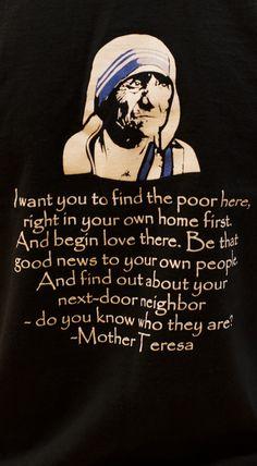 (via Kate Hurst) Blessed Mother Teresa Catholic Beliefs, Catholic Quotes, Religious Quotes, Mother Theresa Quotes, Mother Quotes, Saint Teresa Of Calcutta, Prayer Stations, Prayer Quotes, Quotes Quotes