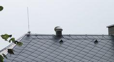 Aplikace ventilačních turbín LOMANCO Roof Tiles, Utility Pole