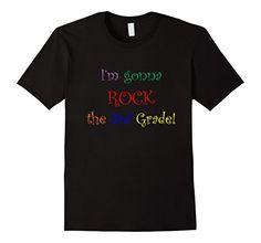 Men's I'm Gonna Rock the 3rd Grade T-Shirt, Back to Schoo…