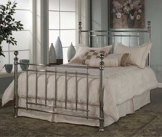 Silver Queen Bed Frame