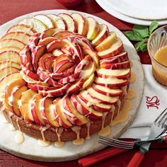 Recipes from the September Issue of Southern Living: Caramel Apple Cake