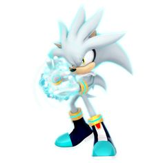 (Future) ESP Silver The Hedgehog Render by Nibroc-Rock