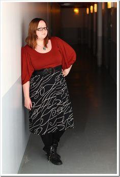 Midi Skirt, Plus Size, My Style, Skirts, Fashion, Moda, Fashion Styles, Skirt, Fashion Illustrations