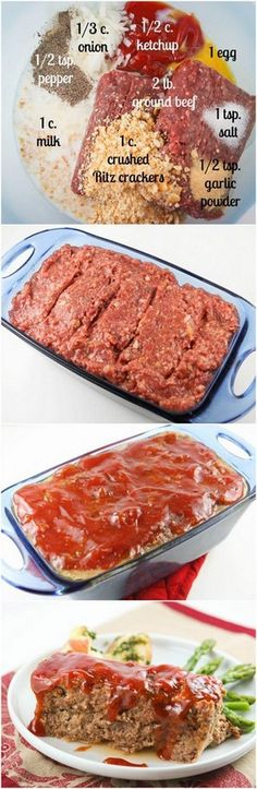 Best Ever Meatloaf   The title is no lie. This is the BEST meatloaf you will ever eat. If you have meatloaf qualms, set them aside and try this!