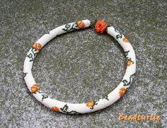 Rose bead crochet