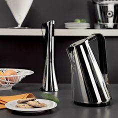 #kettles #lifestyle #photography #styling #tea #coffee #home #interior #inspiration #kitchen  Bugatti - Vera Kettle - Chrome