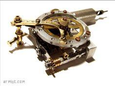 Armixt - Handmade tattoo machine #011