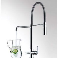 Misturador Monocomando para Cozinha de Mesa com Ducha Especial e Saída para Água Filtrada 2264 C76 - Lorenzetti