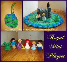 Ravelry: Royal Mini Playset pattern by Tera Kulling
