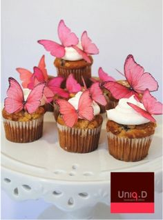 new 70 PRECUT edible butterflies - butterfly decoration - FREE SHIPPING - edible cake decoration - wedding favors by Uniqdots on Etsy