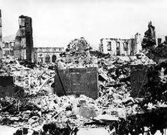Gernika tras el bombardeo.  Gernika bonbardaketa ostean. #Gernika #bonbardaketa…