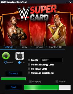 WWE SuperCard Hack  WWE SuperCard Hack (Android/iOS) - HacksBook http://www.hacksbook.com/wwe-supercard-hack-cheats/