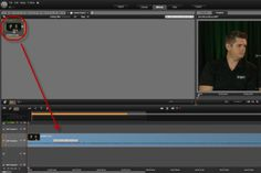 "Tutorial - separate audio tracks in Pinnacle Studio - Right click and choose ""Detach Audio"" to separate video and audio."