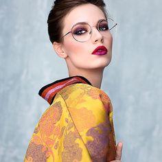 « Share secrets with Caroline Abram» Venus, lunettes rondes / Round #carolineabram #glasses