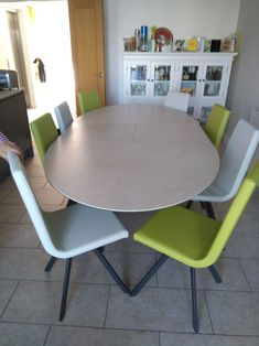 Extendable version of Moon dining table in Hydra Argen ceramic top. Available in other sizes and configurations. Candy dining chairs in Faux Leather. Delivered to our client in Eastbourne. Dining Chairs, Dining Table, Leather Bed, Sofa Design, Modern Bedroom, Contemporary Furniture, Sofas, Moon, Candy