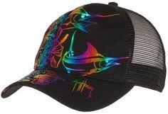 d21461d7214 Guy Harvey Hibiscus Marlin Ladies Hat Hibiscus