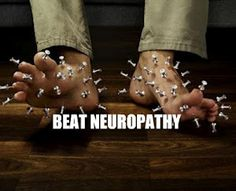 Neuropathy usually causes pain and numbness in the hands and feet