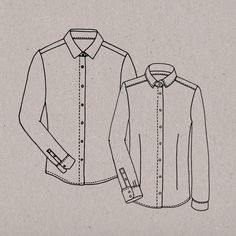 Blog post about making the shirt http://fruitsflowersclouds.blogspot.se/2015/01/making-perfect-button-up-shirt-1.html