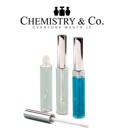 10 Lip Gloss Balm Tubes Plastic10ml Bottles w/ Metallic SILVER Wand Top Packaging DIY Private Label Empty Cosmetic Packaging Lipstick 10 ml (13.95 USD) by ChemistryCo