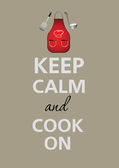 Keep calm and cook on by Agadart on Etsy