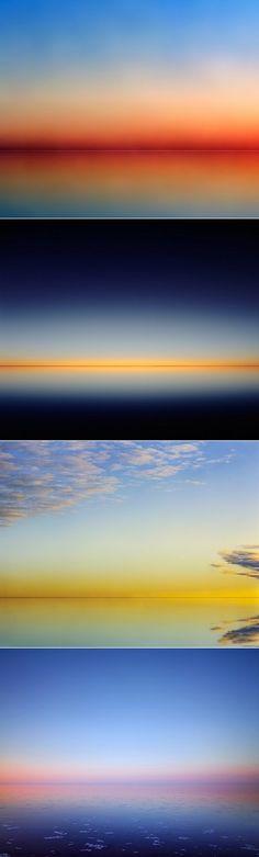 The beauty of infinite space - Lake Eyre, Australia