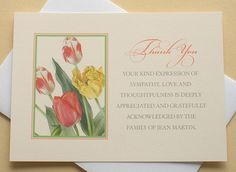Let me create a custom sympathy thank you card for you. The last thing on your mind when grieving is remembering to send out a thank you note to those who are there for you during that difficult time. Sympathy Notes, Sympathy Thank You Cards, Funeral Thank You Cards, Thank You Verses, Thank You Notes, Funeral Ideas, Funeral Planning, Expressions Of Sympathy, Grey And Gold