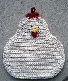 crochet rooster free patterns | ve been negligent in responding to the blogging awards I've received ...