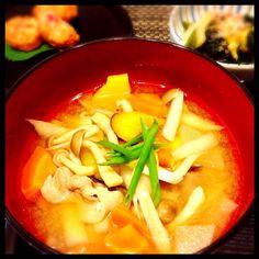 豚汁大好き♥時期に合わせて旬な野菜を♥ - 6件のもぐもぐ - 秋野菜たっぷり豚汁 by keisnap