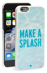 kate spade new york 'make a splash' lenticular iPhone 6 case