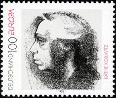 Stamp Germany 1996 Briefmarke Europa Käthe Kollwitz.jpg