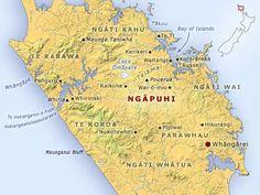 Traditional lands of Ngāpuhi