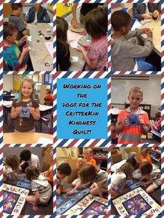 Ss just finished the dogs for the @CritterKin Kindness quilt! Can't wait to see the final product!