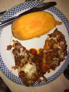 Chicken Laziano: sautéed onion, mushroom and cherry tomato over breaded chicken, fried onion, tomato sauce and mozzarella.