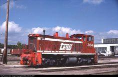 RailPictures.Net Photo: TPW 304 Toledo, Peoria & Western EMD SW1500 at Peoria, Illinois by WILLIAM KLAPP