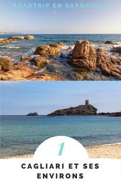 Première étape de notre roadtrip en Sardaigne, la région de Cagliari, Nora et la route panoramique du sud