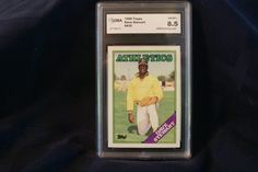 Dave Stewart 1988 Topps baseball card 476 by GooseyLucy on Etsy