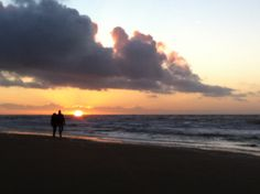 Beach at Noordwijk. iPhone. Kannika Holzhaus