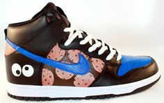 cookie monster nike shoes ♥♥♥