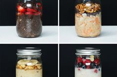 These Overnight Oats Make The Perfect Grab And Go Healthy Breakfast