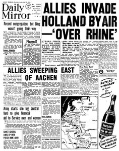 Read news reports from 1944 in our collection of historic newspapers and find out the biggest newspaper headlines from that year.