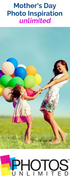 Grab some balloons, coordinate a matching outfit for you and your child(ren) and then, get ready to head outside! Our On-Location photographers will meet you where you are and are perfect for shooting your Mother's Day photos!