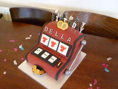 Slot Machine Birthday Cake Chocolate With Dulce De Leche