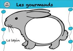 les gourmands : les animaux mangent ce qui rime avec leur nom Language Activities, Science Activities, Montessori Materials, Phonemic Awareness, French Lessons, Teaching French, Letter Sounds, Learn French, Speech And Language