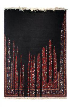 Handmade Glitchy Melting Carpets by Faig Ahmed on Creativitea