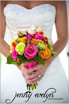 wedding flower colors